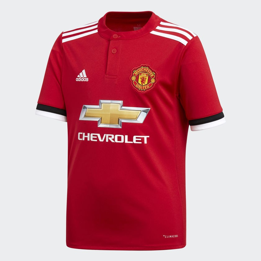 Camisa 1 juvenil Manchester United Adidas