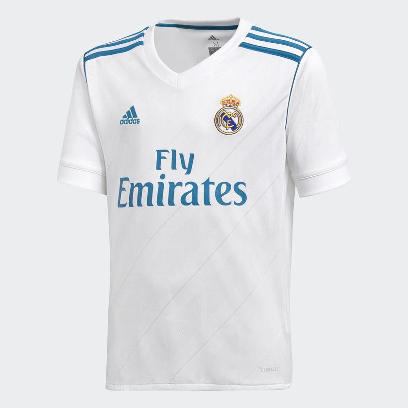 Camisa 1 juvenil Real Madrid Adidas