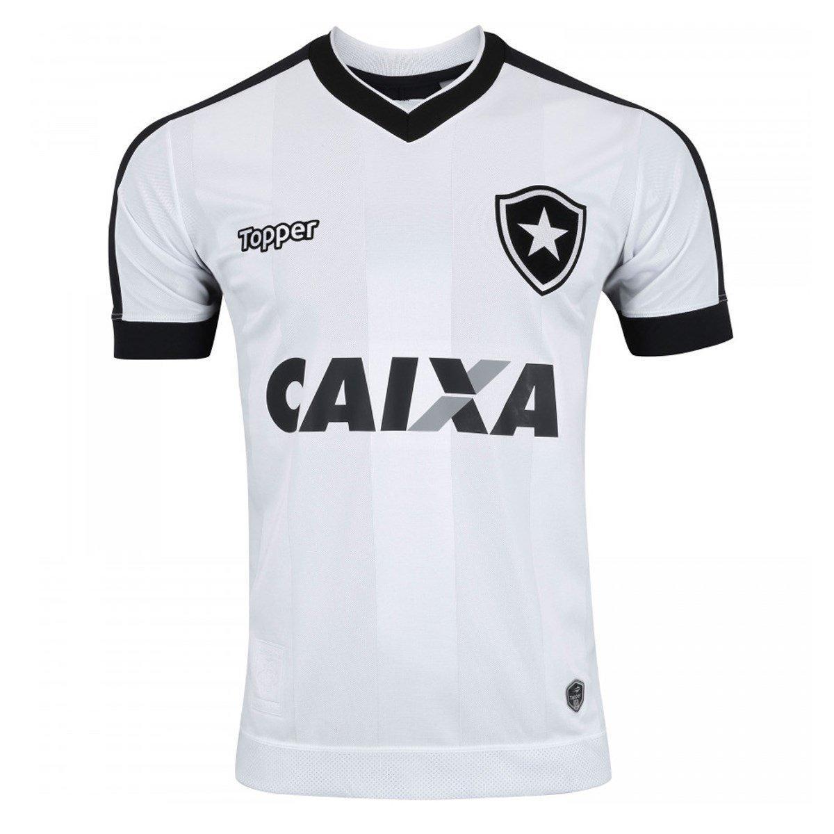 Camisa 3 Botafogo juvenil C/Patrocínio 2017 Topper