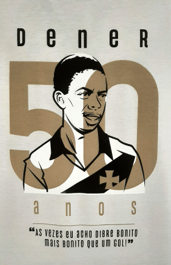 Camisa 50 anos Dener