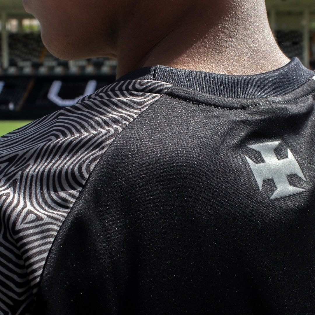 Camisa All Black Masculina Vasco da Gama Plus Size - Respeito e Igualdade