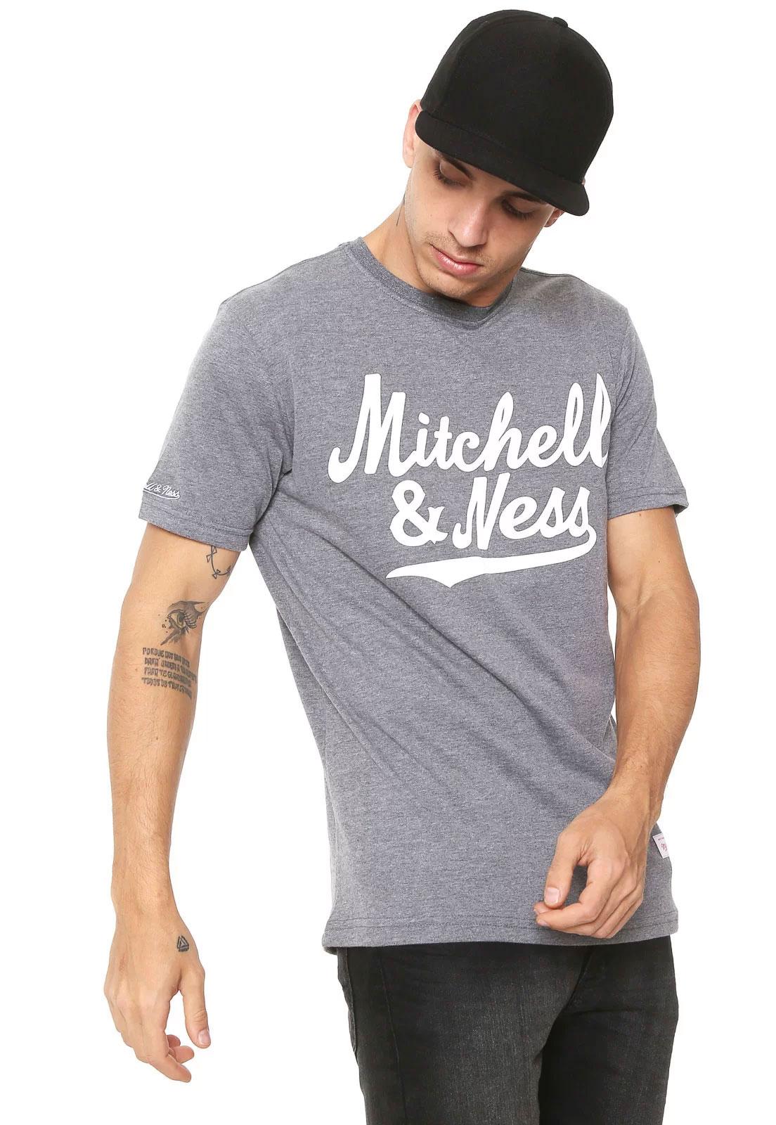 Camisa Assinatura Mitchell & Ness