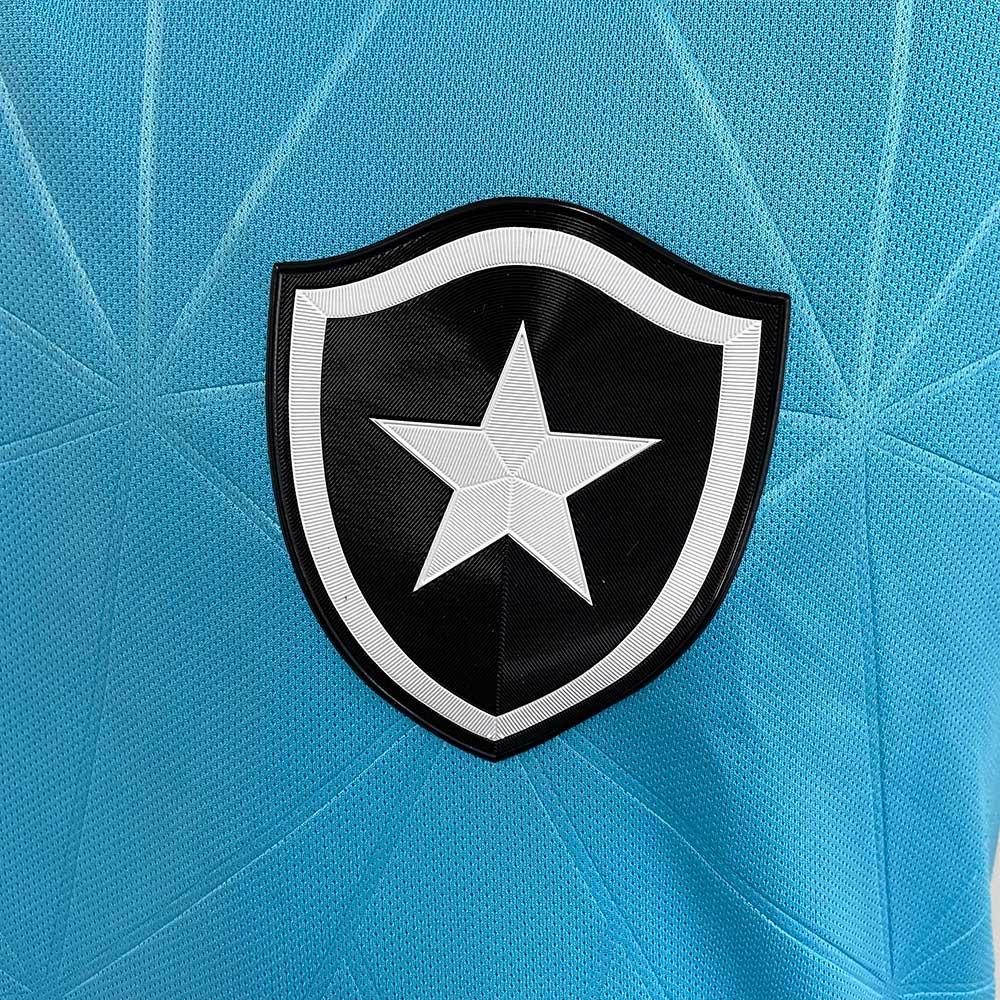 Camisa Botafogo Feminina Jogo 4 Kappa 2021 - Azul