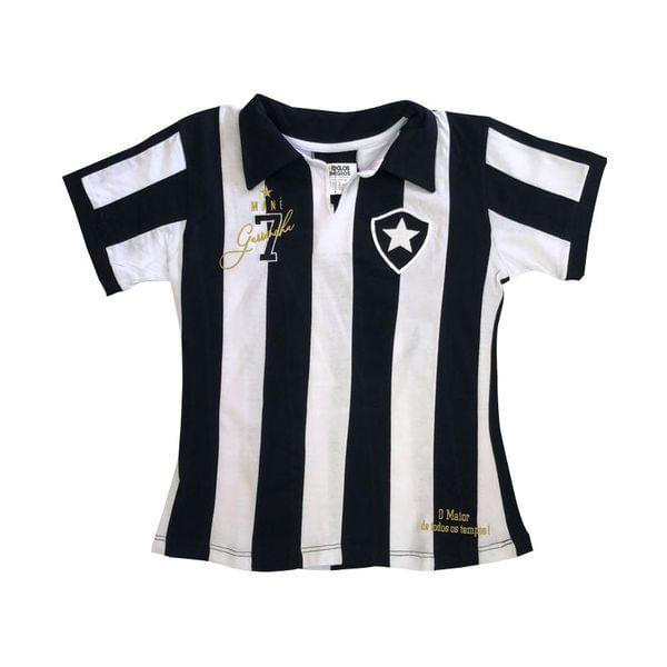 Camisa Botafogo feminina retrô Garrincha