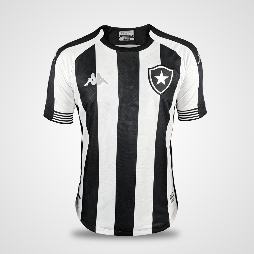 Camisa Botafogo Jogo 1 Kappa 2020/21 - Alvinegra