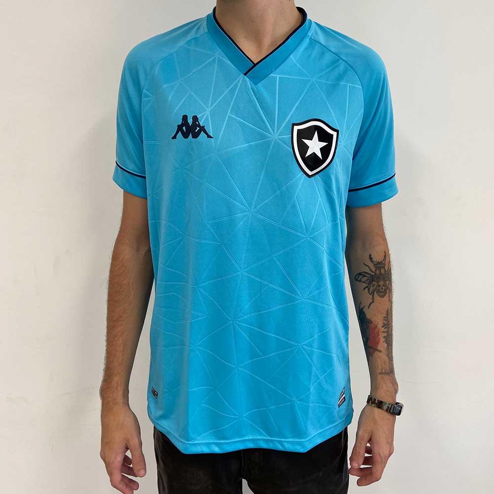 Camisa Botafogo Jogo 4 Kappa 2021 - Azul