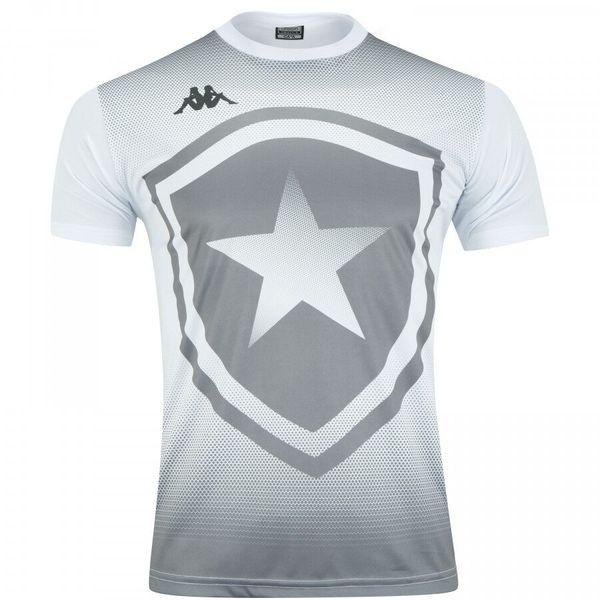 Camisa Botafogo Torcedor Escudo Kappa 2019/20 - Branca