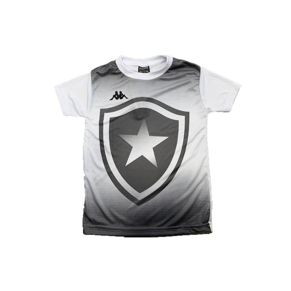 Camisa Botafogo Torcedor Juvenil Kappa 2019/20 - Branca