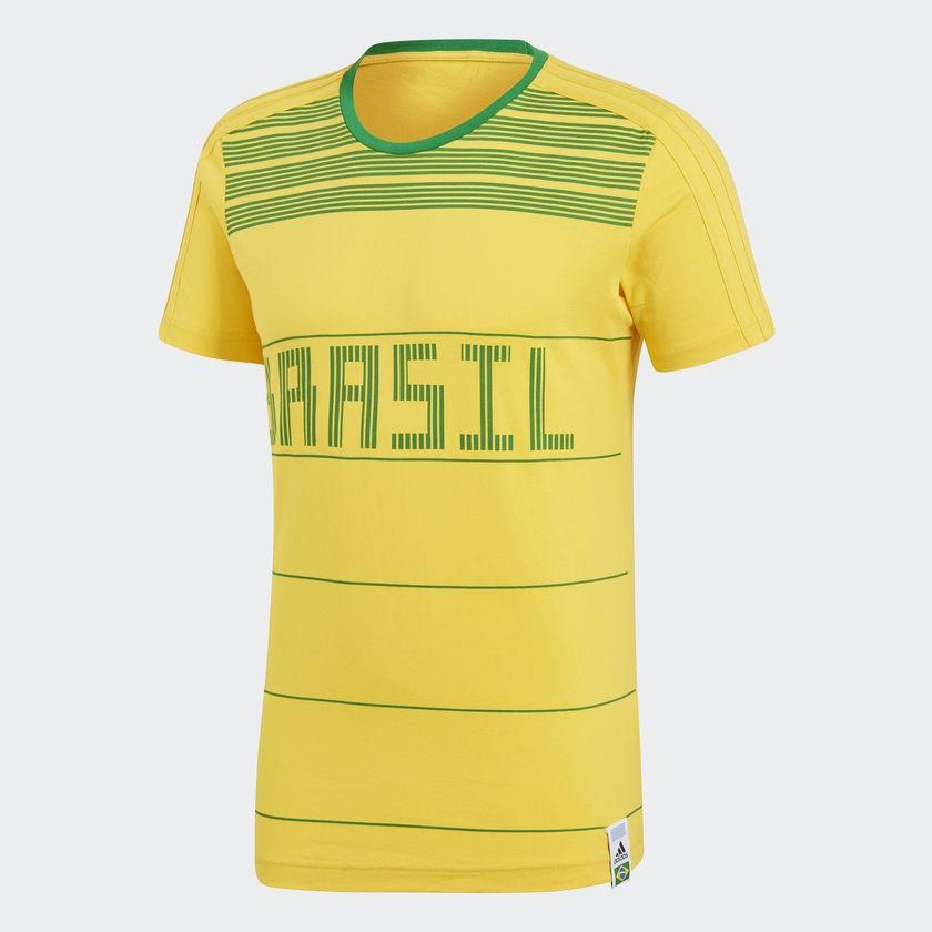 Camisa Brasil Adidas