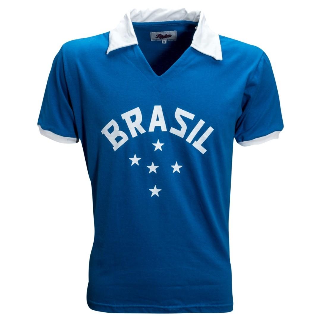 Camisa Brasil retrô 1952