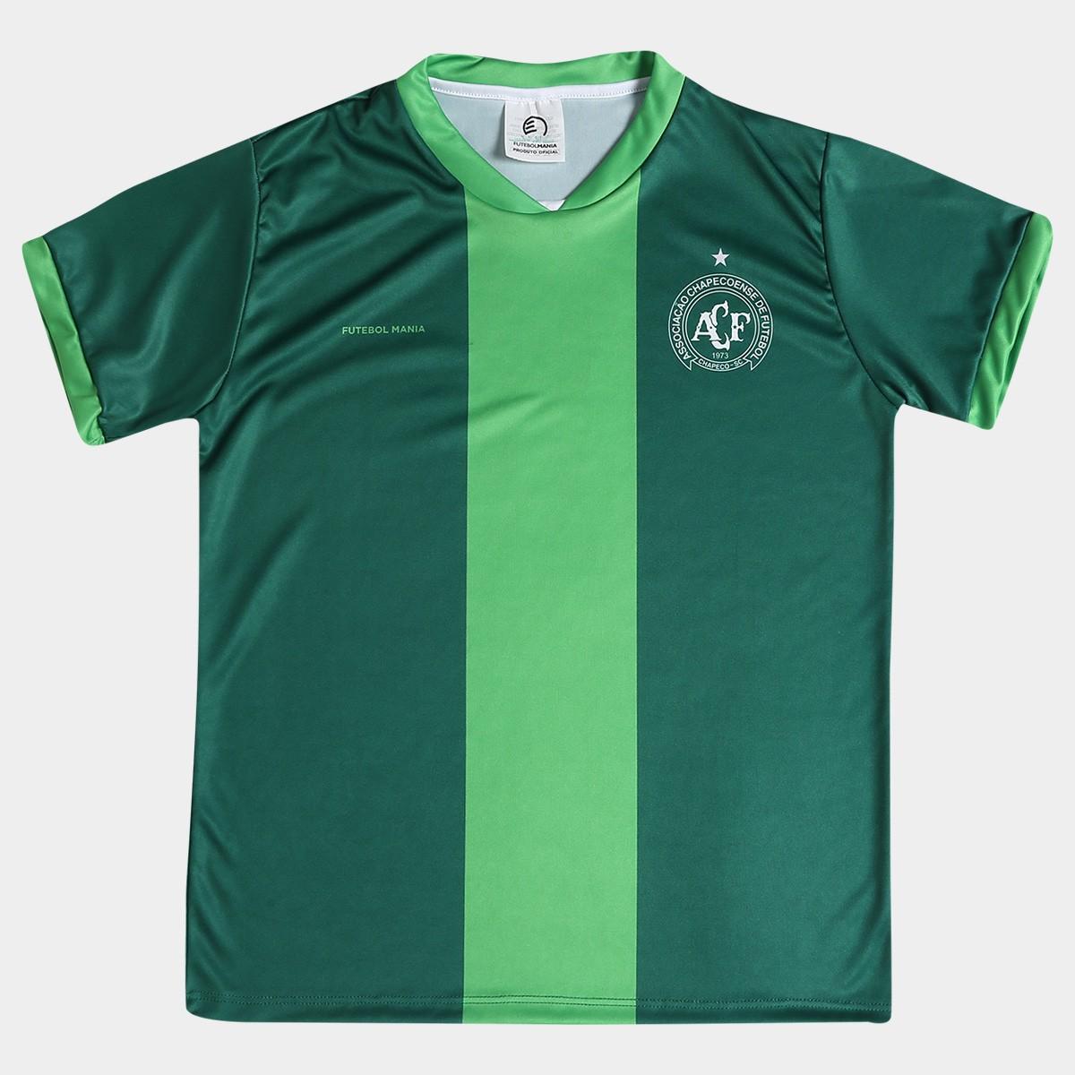 Camisa Chapecoense infantil sublimada