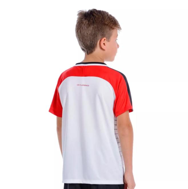 Camisa Flamengo infantil Temp Raglan