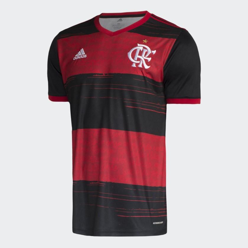 Camisa Flamengo Of 1 Infantil - ADIDAS 2020