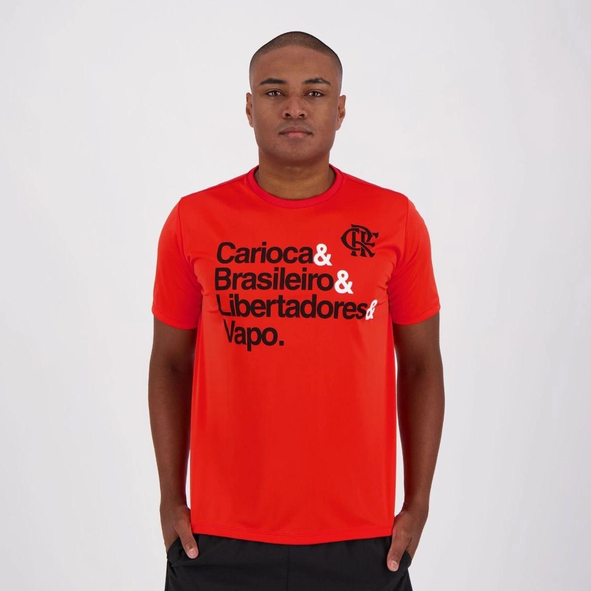 Camisa Flamengo Vapo