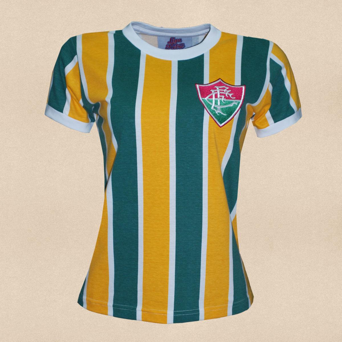 Camisa Fluminense feminina Brasil - Edição limitada