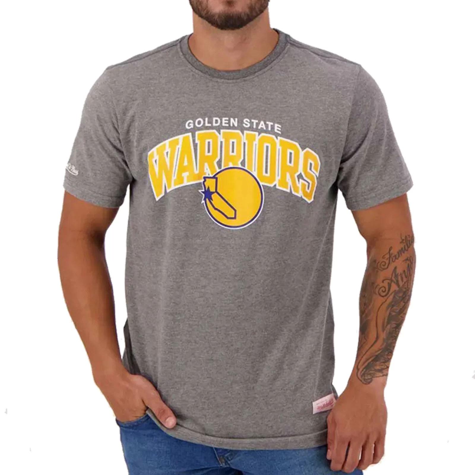Camisa Golden State Warriors - Cinza