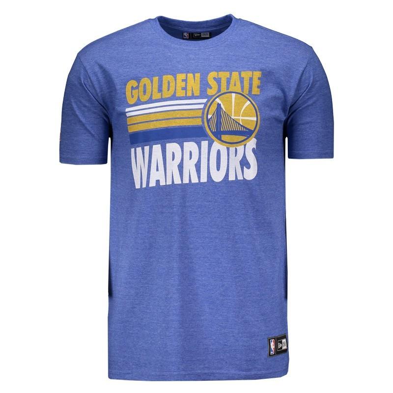 Camisa Golden State Warriors Melange - NBA
