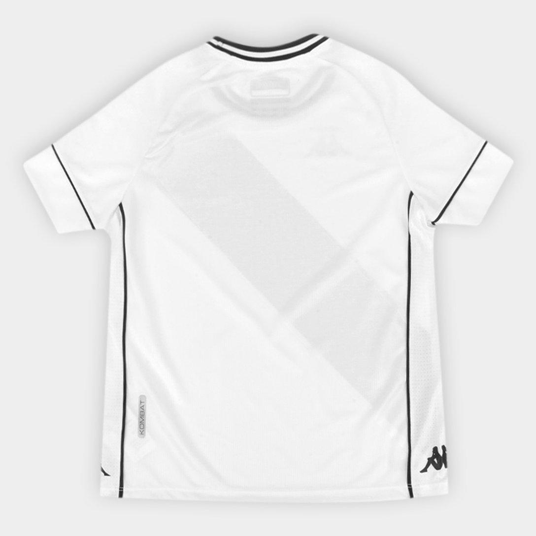 Camisa Infantil Vasco II Kappa 2020/2021 #KappaNoVasco (copia)