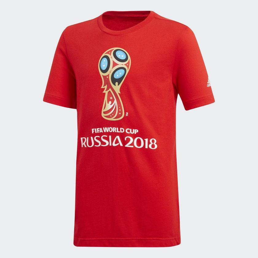 Camisa juvenil FIFA World Cup Rússia 2018 Adidas
