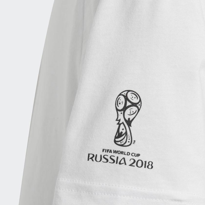 Camisa juvenil mascote FIFA World Cup Rússia 2018 Adidas