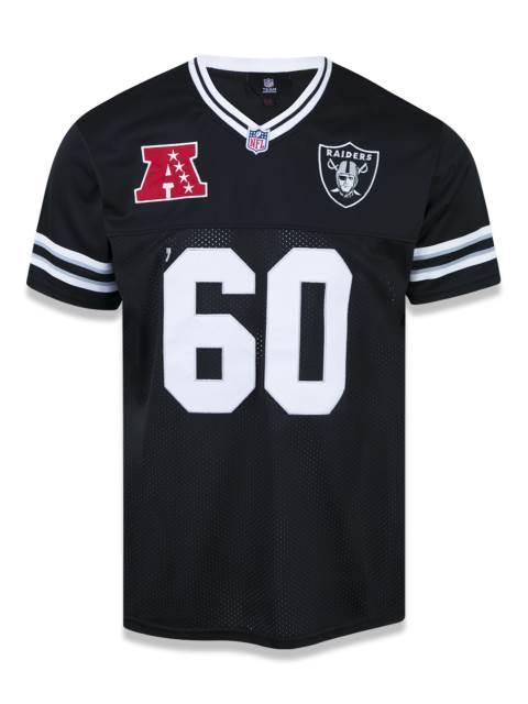 Camisa Oakland Raiders NFL - Preta NEI