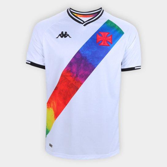 CAMISA ORGULHO LGBTQIA+ BRANCA - KAPPA