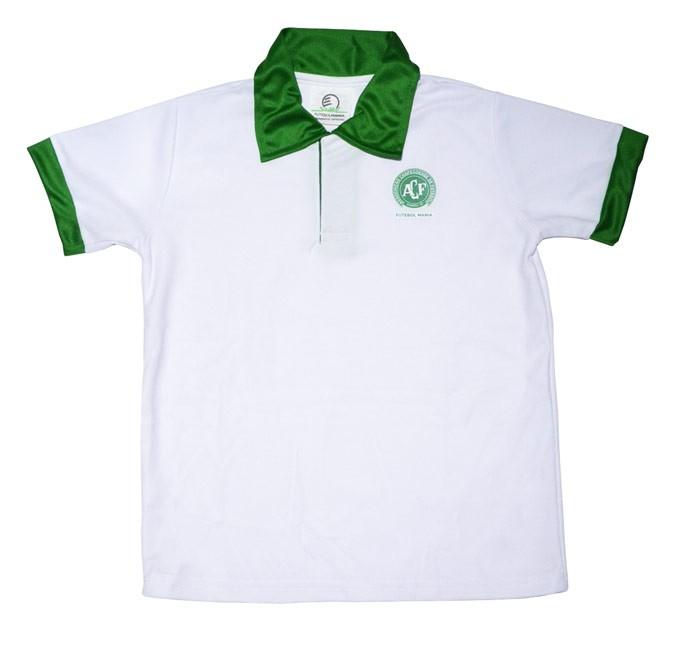 Camisa polo Chapecoense infantil