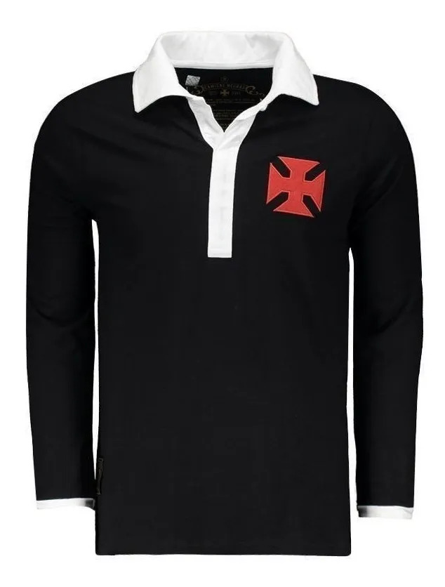 Camisa Polo Vasco Negras