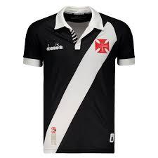 Camisa Vasco 1 torcedor feminina 2019 Diadora