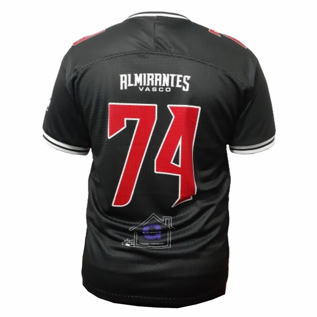 Camisa Vasco Almirantes 2020 - Preta