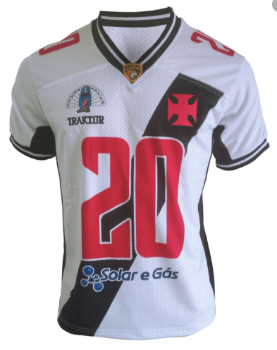 Camisa Vasco Almirantes Feminina 2020 - Branca
