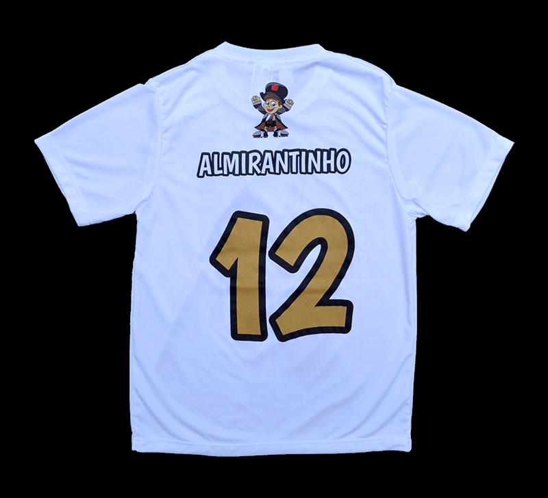 Camisa Vasco Almirantinho Infantil
