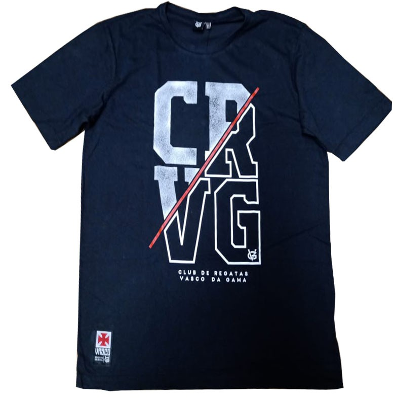 Camisa Vasco Barra CRVG Preta VG