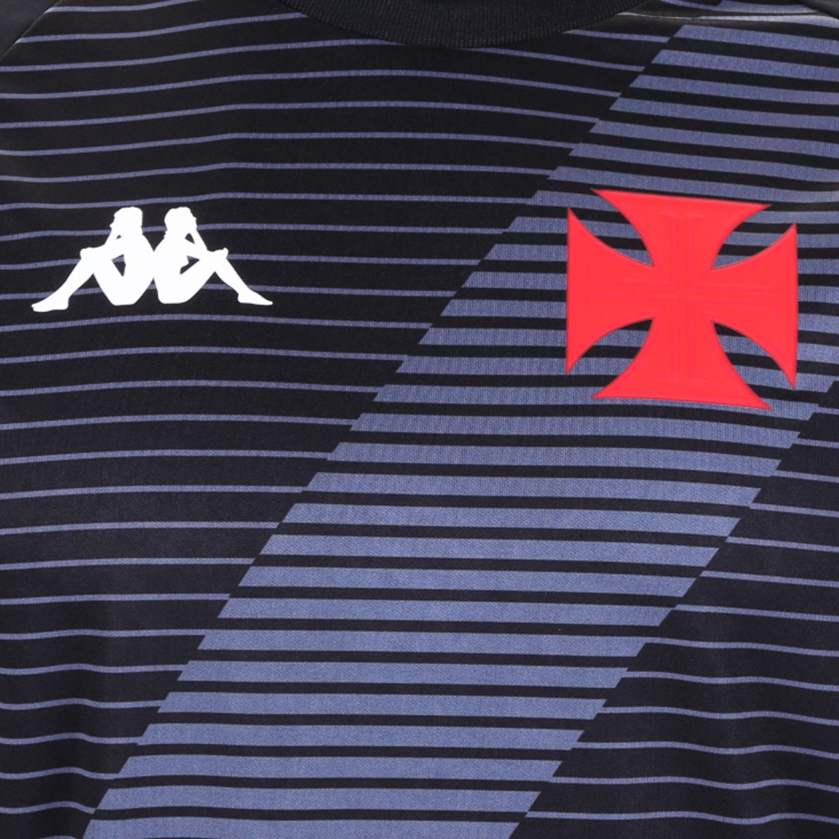 Camisa Vasco CRVG Supporter Preto Kappa 20