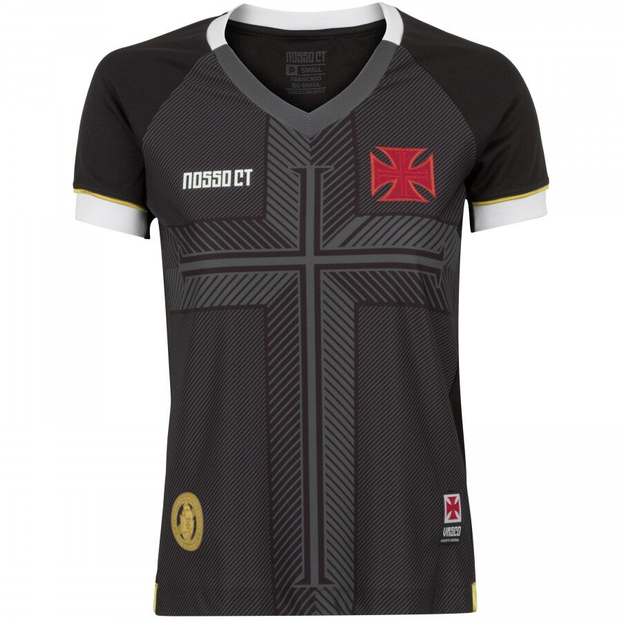 Camisa Vasco CT Feminina Fan 2020
