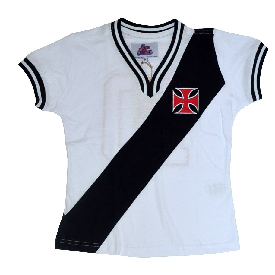 Camisa Vasco feminina 1974