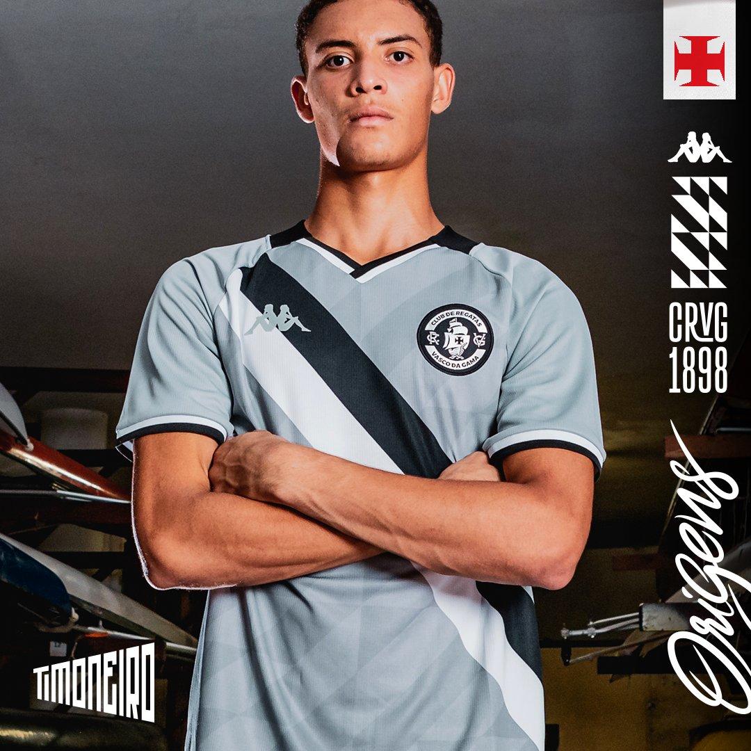 Camisa Vasco Timoneiro Goleiro OF 3RD Plus Size Kappa 2021