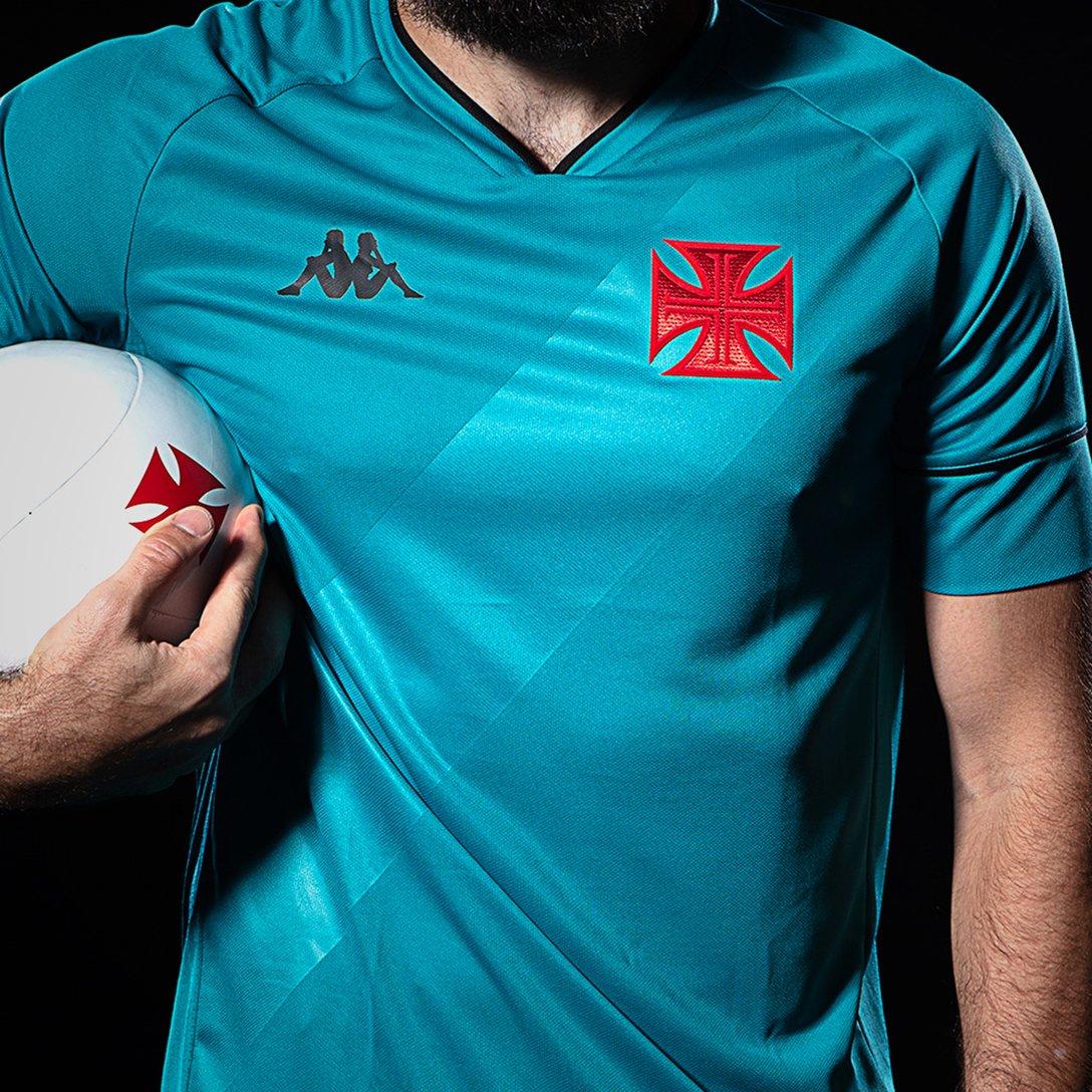 Camisa Vasco Goleiro I Kappa 2020/2021 #KappaNoVasco
