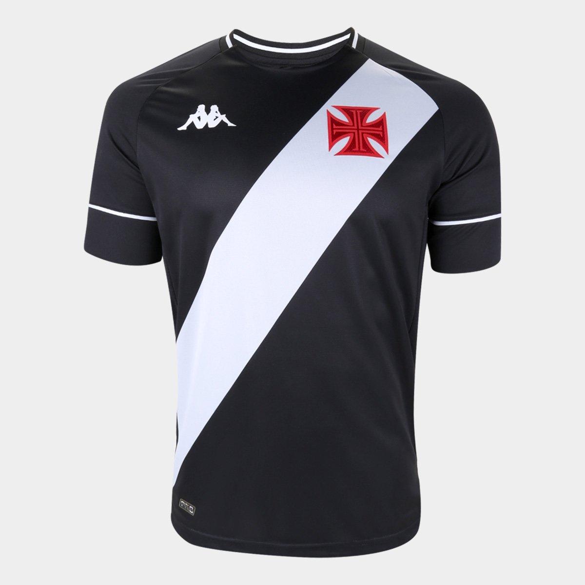 Camisa Vasco I Kappa 2020/2021 - Talles Magno