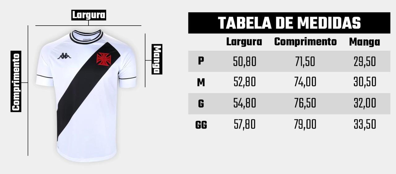 Camisa Vasco II Kappa 2020/2021 - Talles Magno