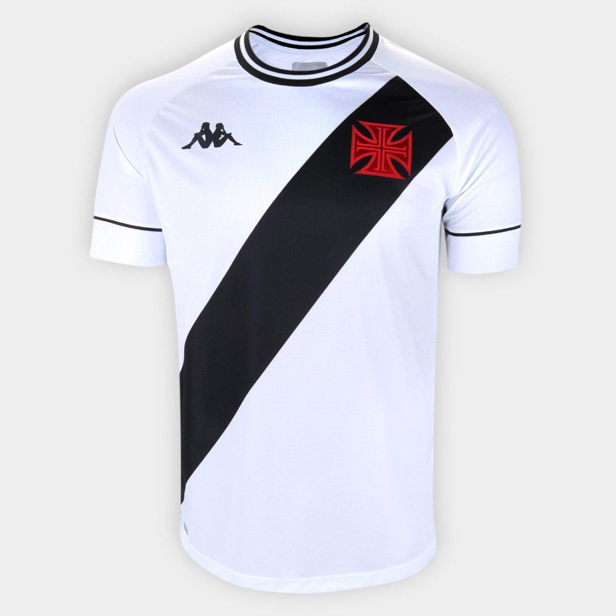 Camisa Vasco II Kappa 2020/2021 - Y. Pikachu