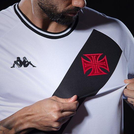 Camisa Vasco II Tamanho Especial Kappa 2020/2021 #KappaNoVasco