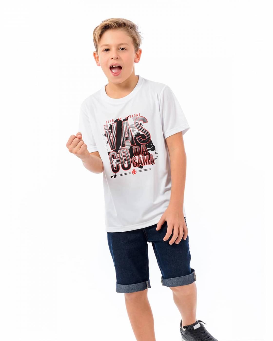 Camisa Vasco infantil Brick