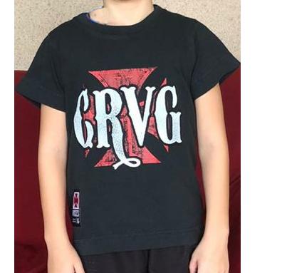 Camisa Vasco Infantil Cruz CRVG - VG