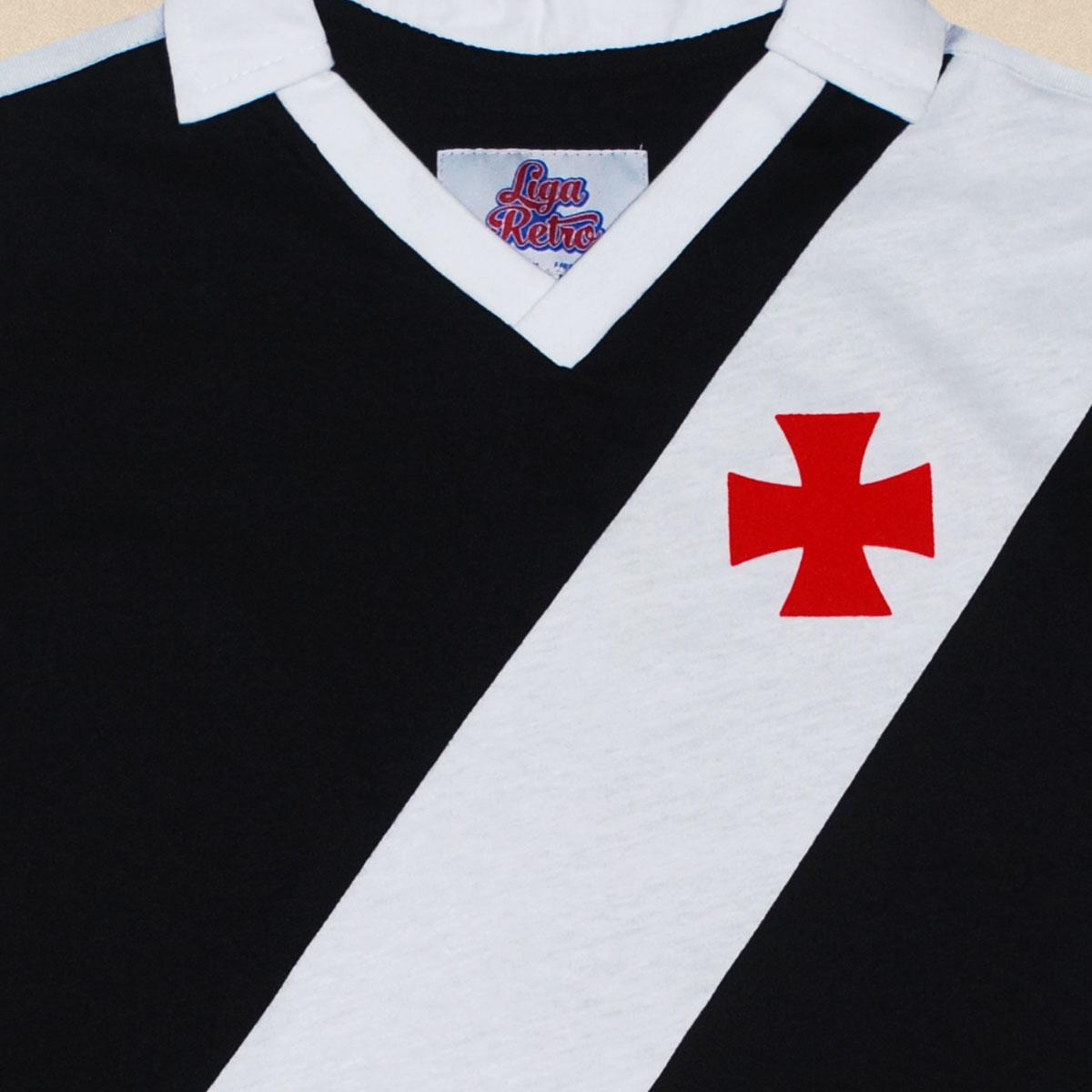 Camisa Vasco juvenil 1989