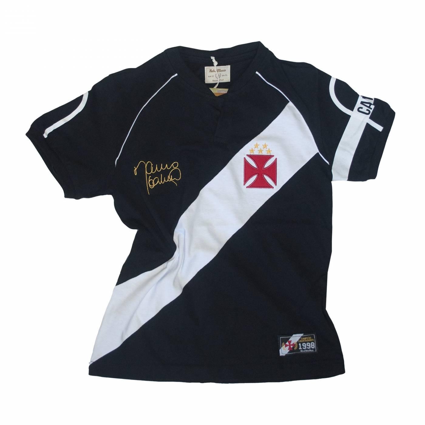 Camisa Vasco juvenil retrô 1998 - Mauro Galvão