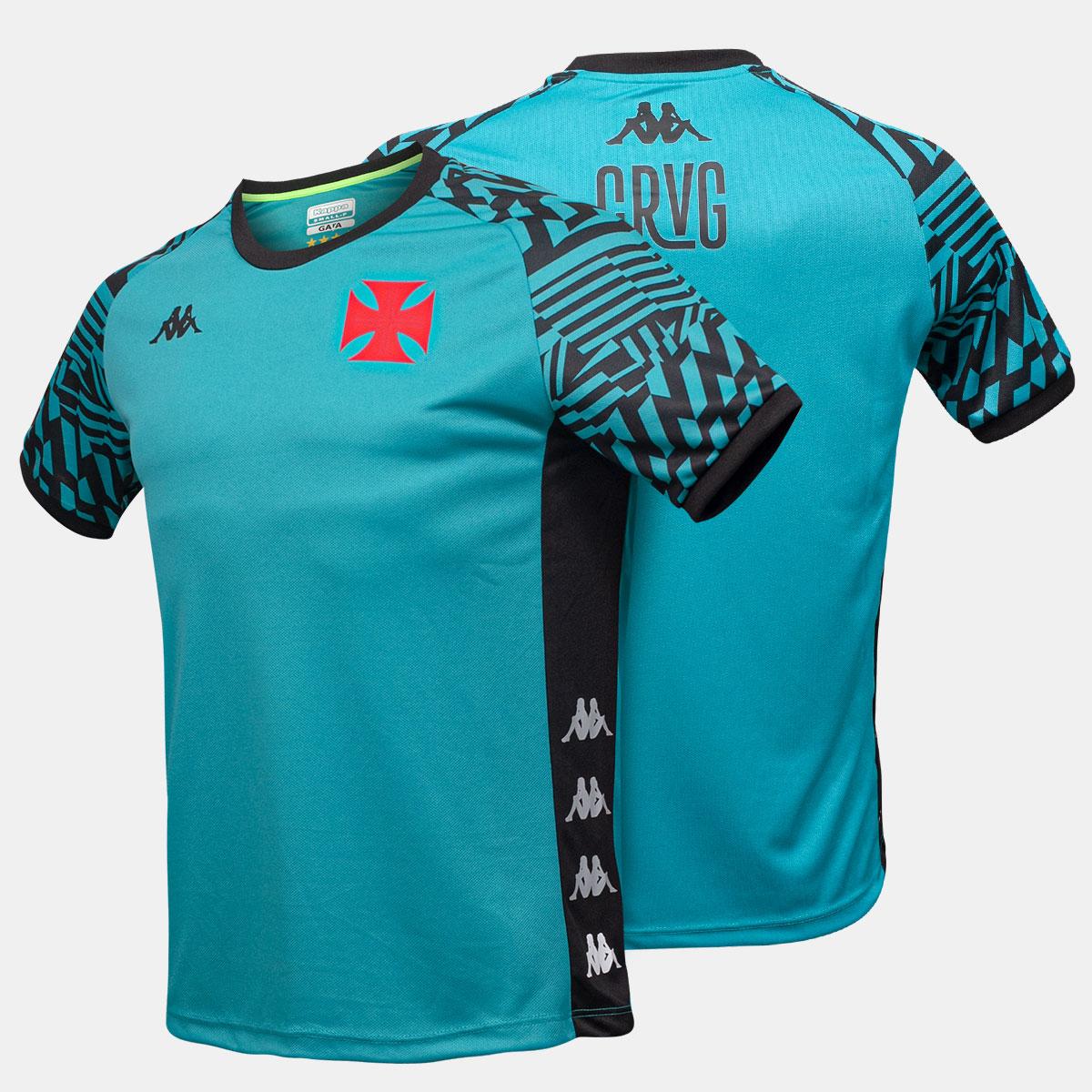 Camisa Vasco Mascuina Treino Atleta Kappa 2021