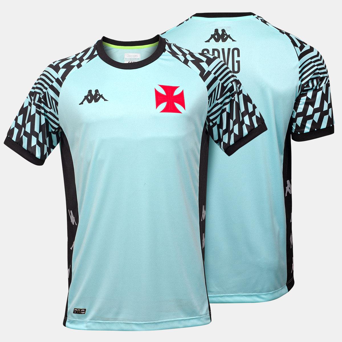 Camisa Vasco Masculina Treino Goleiro Kappa 2021