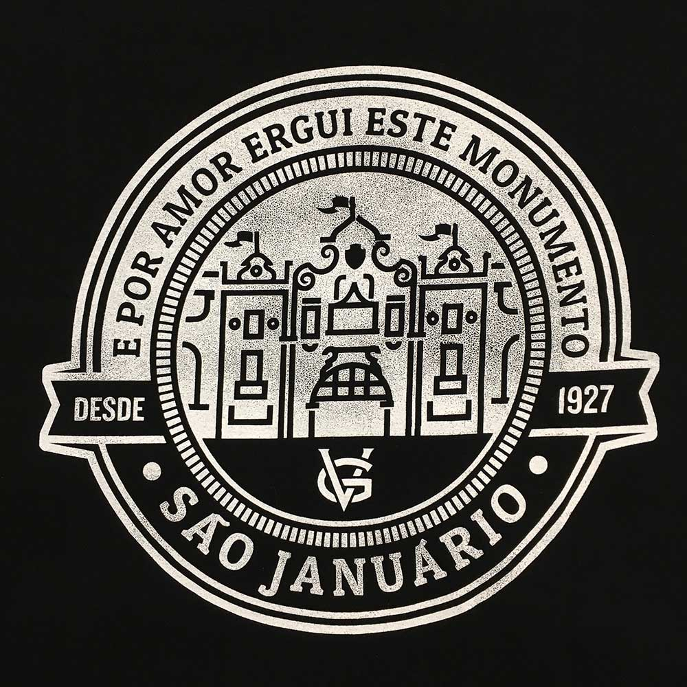 Camisa Vasco Monumento São Januário VG - Preta