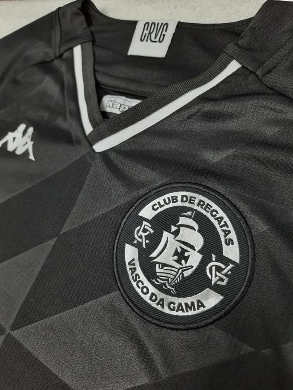 Camisa Vasco Timoneiro Of 3RD Infantil Kappa 2021